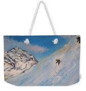 Ski Alaska Heli Ski Weekender Tote Bag