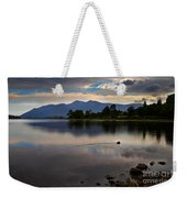Skiddaw And Derwent Water At Dawn Weekender Tote Bag
