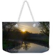 Skippack Creek Sunrise Weekender Tote Bag