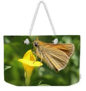 European Skipper On Bird's-foot Trefoil Weekender Tote Bag