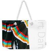 Skirt Dance Weekender Tote Bag
