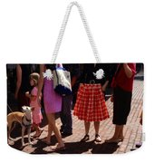 Skirts And Pooches On Capitol Hill Weekender Tote Bag