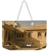 Skn 1322 Palatial Architecture Weekender Tote Bag