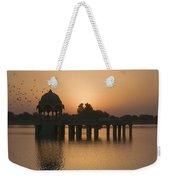 Skn 1368 Sunrise Flight Weekender Tote Bag