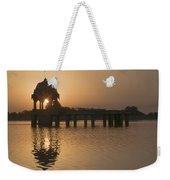 Skn 1379 The Sunrise Flare II Weekender Tote Bag