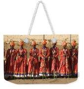 Skn 1508 Folk Dancers Weekender Tote Bag