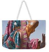 Skn 1544 Dressed To Dance Weekender Tote Bag