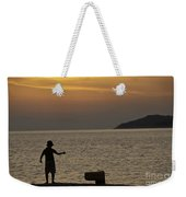 Skopelos Sunset - Fisher Boy - 1 Weekender Tote Bag