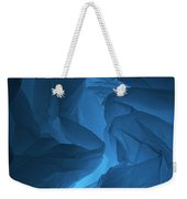 Skc 0247 Mystery In Blue Weekender Tote Bag