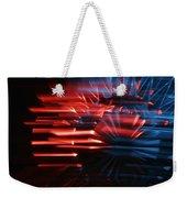Skc 0272 Crystal Glass In Motion Weekender Tote Bag