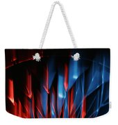 Skc 0276 Red And Blue Weekender Tote Bag