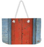 Skc 0401 Closed Red Door Weekender Tote Bag