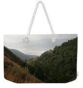 Skc 0763 Dry Green Landscape Weekender Tote Bag