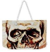 Skull Weekender Tote Bag by Anastasiya Malakhova