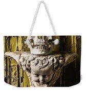 Skull And Angel Weekender Tote Bag