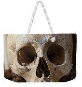 Skull And Old Book Weekender Tote Bag