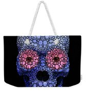 Skull Art - Day Of The Dead 1 Stone Rock'd Weekender Tote Bag