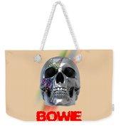 Skull Bowie  Weekender Tote Bag