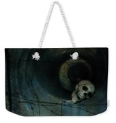 Skull In Drainpipe Weekender Tote Bag