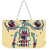 Skull In Negative Hope Weekender Tote Bag