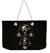 Skull In Sepia Weekender Tote Bag