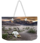 Skull In The Desert Weekender Tote Bag