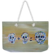 Skull Mathematics Weekender Tote Bag