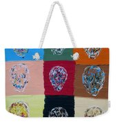 Skull Pop Nine Weekender Tote Bag