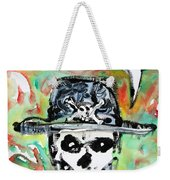 Skull Quoting Oscar Wilde.1 Weekender Tote Bag