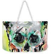 Skull Quoting Oscar Wilde.8 Weekender Tote Bag