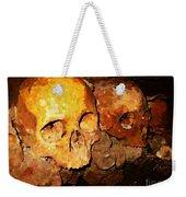 Skulls In The Paris Catacombs Weekender Tote Bag