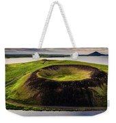 Skutustadagigar Pseudo Craters, Lake Weekender Tote Bag