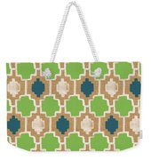 Sky And Sea Tile Pattern Weekender Tote Bag