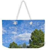 Sky Blue Summer Art Weekender Tote Bag