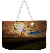 Farmland Sky Weekender Tote Bag