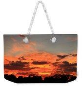 Sky Flames Weekender Tote Bag