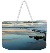 Sky Lake Weekender Tote Bag