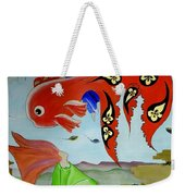 Sky Mermaid Weekender Tote Bag