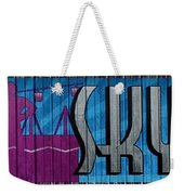 Sky Ride Panorama Weekender Tote Bag