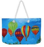 Sky Skittles Weekender Tote Bag