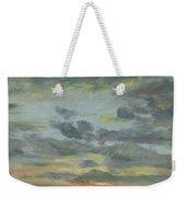 Sky Study, Sunset, 1821-22 Weekender Tote Bag