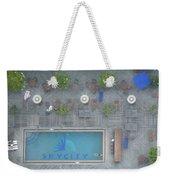 Skycity Pool Weekender Tote Bag