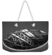 Skylight Gurders In Black And White Weekender Tote Bag