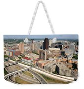 Skyline Aerial Of St. Paul Minnesota Weekender Tote Bag