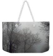 Skyline Drive In Fog Weekender Tote Bag
