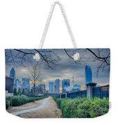 Skyline Of A Big City In South - Charlotte Nc Weekender Tote Bag
