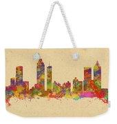 skyline of Atlanta Georgia Weekender Tote Bag