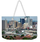 Skyline Of Birmingham Weekender Tote Bag