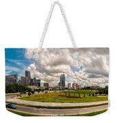 Skyline Of Charlotte Towers Weekender Tote Bag