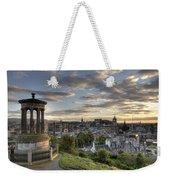Skyline Of Edinburgh Scotland Weekender Tote Bag
